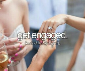 dress, goals, and engaged image