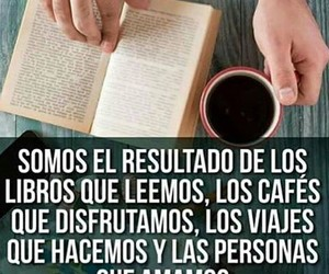 cafe, frases, and personas image