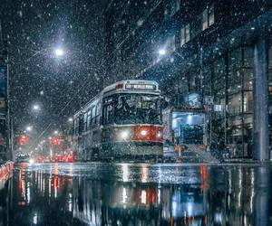 winter, canada, and city image
