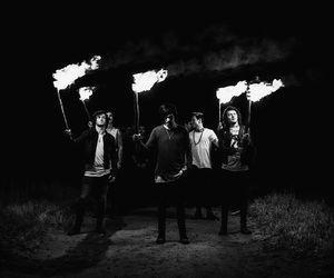 asking alexandria, here i am, and the black image