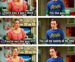 penny, funny, and sheldon image