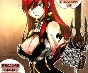 manga, fairy tail, and erza scarlet image