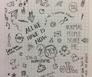 doodle, art, and escape image