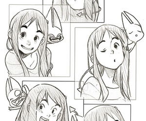anime, character design, and drawing image