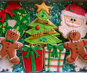 Cookies, variety, and decorate image