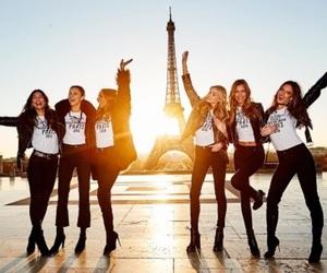 Adriana Lima, josephine skriver, and Victoria's Secret image