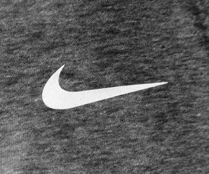 nike, grey, and white image