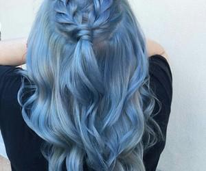 beautiful, dye, and wavy hair image
