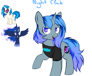 luna, MLP, and OC image