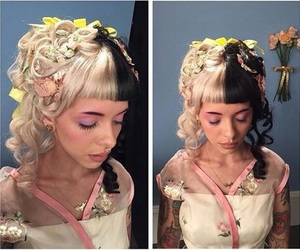 melanie martinez, hair, and crybaby image