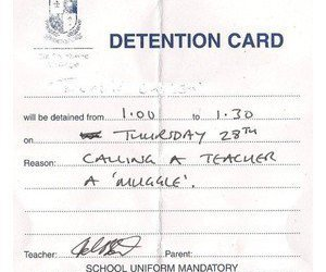 harry potter, muggle, and detention image