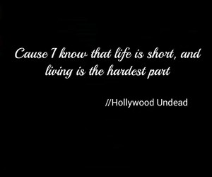 feelings, life, and hollywood undead image