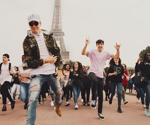magcon, boy, and taylor caniff image