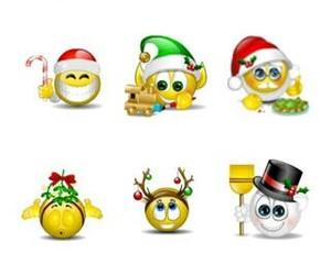 christmas, emoticon, and navidad image