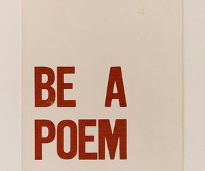 be, poem, and inspiration image