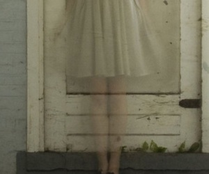 girl and ghost image