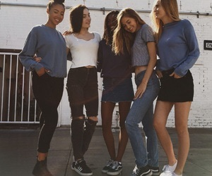 friends, style, and friendship image