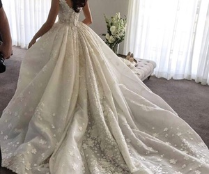 bride, fashion, and style image