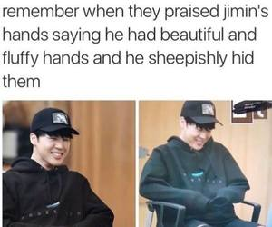 hands, cute, and kpop memes image