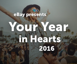2016, we heart it, and year in hearts image