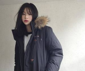 girl, asian, and korean image