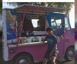 hawaii, food truck, and instagram image