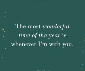beautiful, merry christmas, and quote image