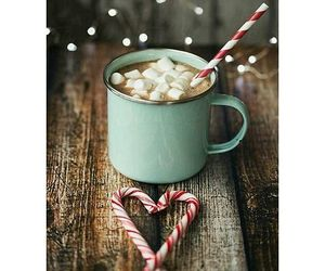 candy cane, cozy, and food image