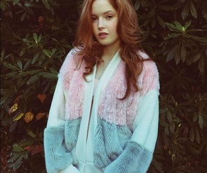 aesthetic, red haired, and fur image