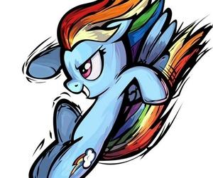 rainbow dash, rd, and friendship is magic image