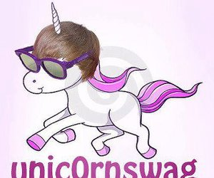 justin bieber, unicorn, and swag image