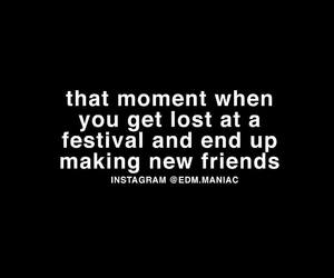 festival, quote, and rave image