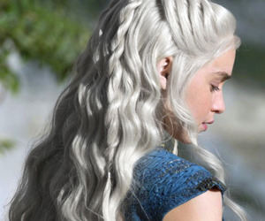 game of thrones, emilia clarke, and daenerys image