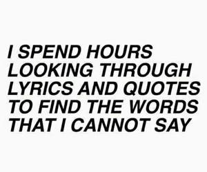 quotes, Lyrics, and words image