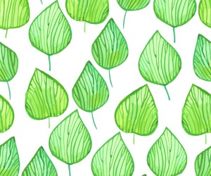 green and pattern image