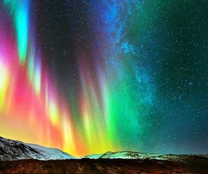 sky, stars, and colors image