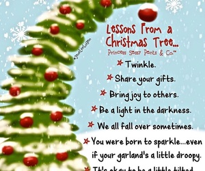 christmas, christmas tree, and quote image