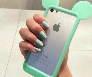 case, green, and phone case image