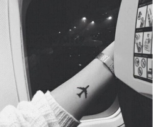little, plane, and cute image