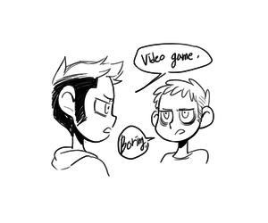 bl, gay, and yaoi image