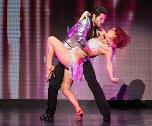 val chmerkovskiy and sharna burgess image