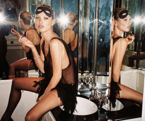 kate moss, vogue, and photography image