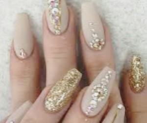 artistic, beautiful, and nails image