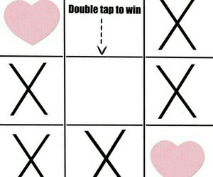 heart, double, and win image