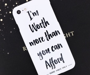 iphone, quotes, and phone cover image