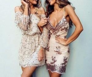 beatifull, dress, and fashion image