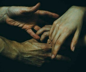body and hands image