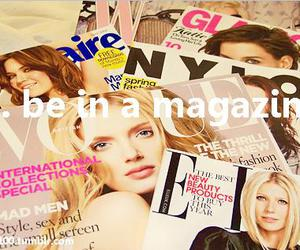 magazine, vogue, and fashion image