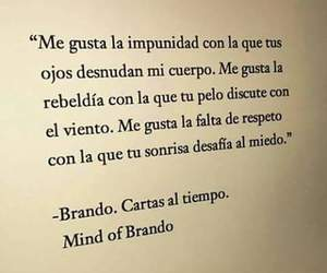 amor, frases, and Brando image
