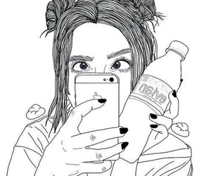 chic, evian, and iphone image